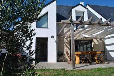 Terraza Alquiler Casa 74855 Quiberon