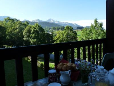 Vistas desde el balc�n Alquiler Apartamento 79537 Villard de Lans - Corren�on en Vercors