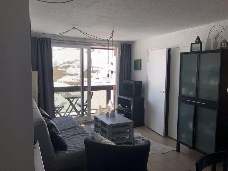 Sala de estar Alquiler Apartamento 80072 Le Corbier