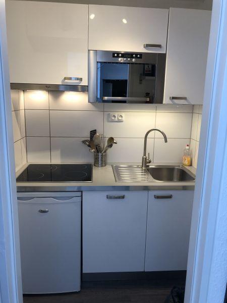 Cocina independiente Alquiler Apartamento 80072 Le Corbier