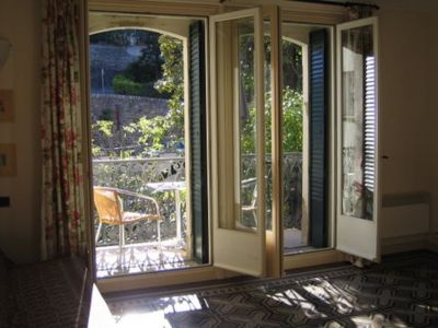 Vistas desde el balc�n Alquiler Apartamento 104098 Am�lie-Les-Bains