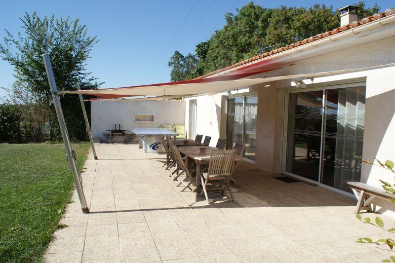 Terraza Alquiler Casa rural 108213 La Rochelle