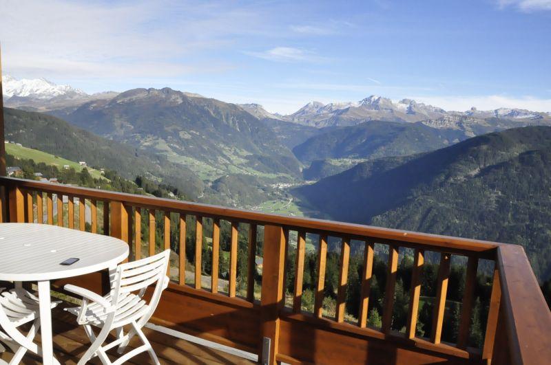 Vistas desde la terraza Alquiler Apartamento 111751 Les Saisies