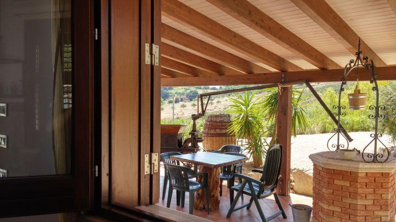 Vistas desde la terraza Alquiler Villa 66027 Scopello