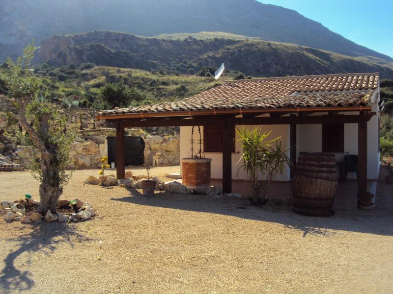 Vistas desde el alojamiento Alquiler Villa 66027 Scopello