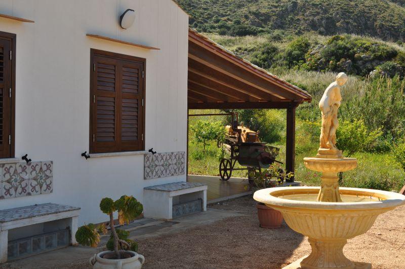 Veranda (Porche) Alquiler Villa 66027 Scopello