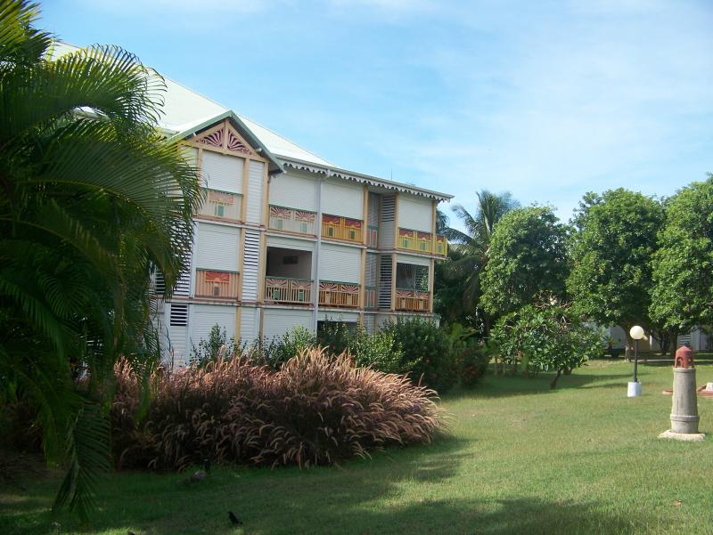 Vistas exteriores del alojamiento Alquiler Estudio 67258 Saint Francois