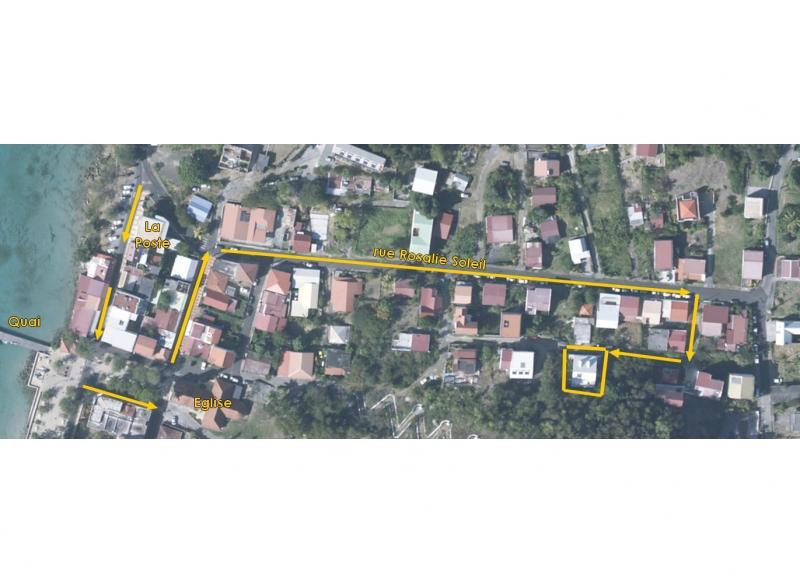 Mapa Alquiler Apartamento 67787 Sainte Anne (Martinique)