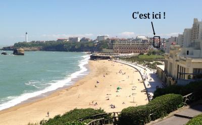 Vistas de las proximidades Alquiler Apartamento 89930 Biarritz