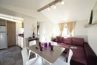 Sala de estar Alquiler Mobil home 99129 Thonon Les Bains
