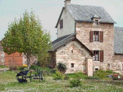 Jard�n Alquiler Casa rural 12005 Sainte Eulalie d'Olt