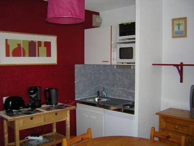 Kitchenette Alquiler Apartamento 126 Les Arcs