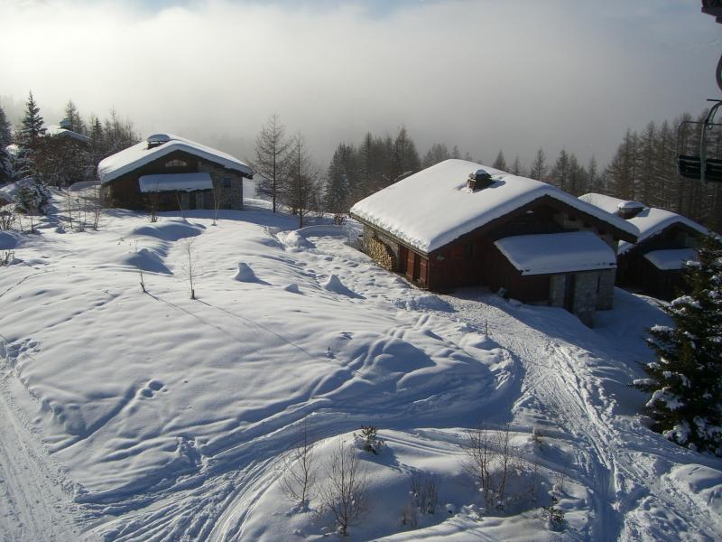 Vistas exteriores del alojamiento Alquiler Chalet 136 Les Arcs