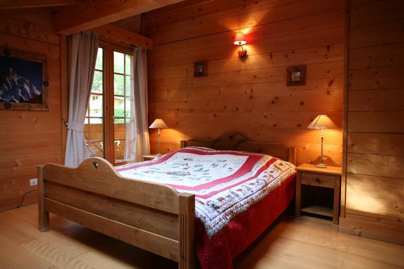 dormitorio 1 Alquiler Chalet 1412 Chamonix Mont-Blanc