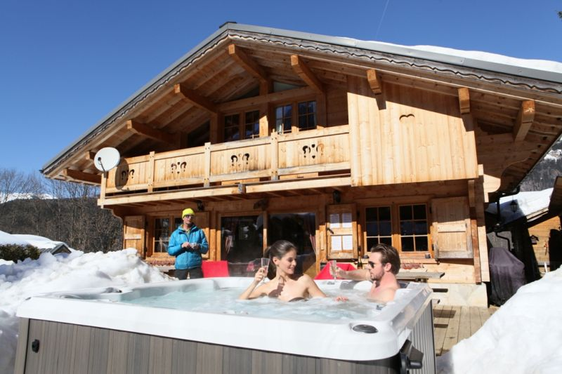 Terraza Alquiler Chalet 1412 Chamonix Mont-Blanc