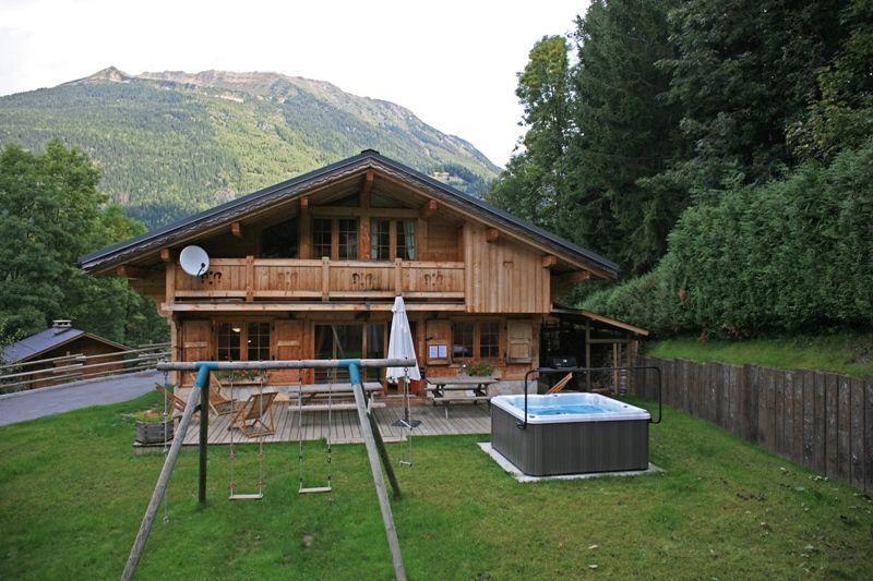 Jardín Alquiler Chalet 1412 Chamonix Mont-Blanc