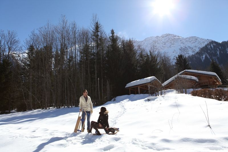 Vistas exteriores del alojamiento Alquiler Chalet 1412 Chamonix Mont-Blanc