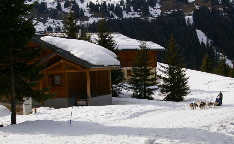 Vistas exteriores del alojamiento Alquiler Chalet 14859 Praz de Lys Sommand