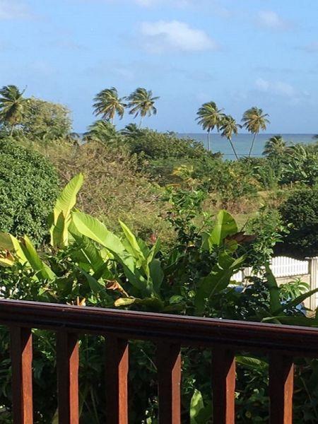Vistas desde la terraza Alquiler Bungalow 16045 Sainte Rose