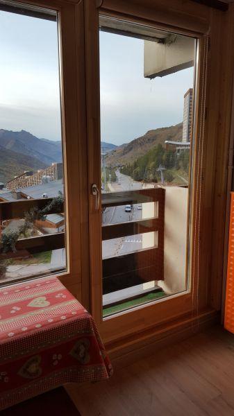 Vistas desde el alojamiento Alquiler Estudio 1628 Les Menuires