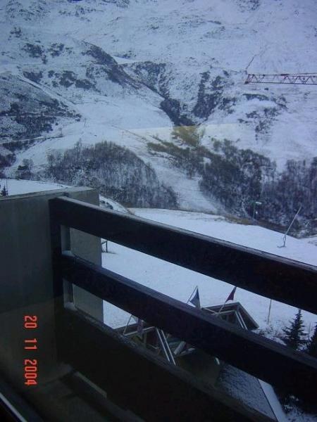 Vistas desde el balcón Alquiler Apartamento 1629 Les Menuires