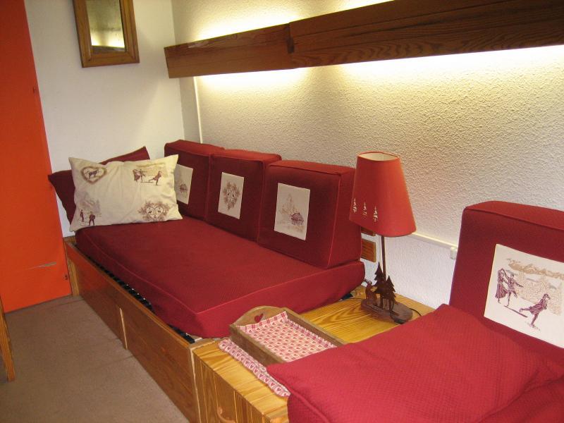 Sala de estar Alquiler Apartamento 1629 Les Menuires