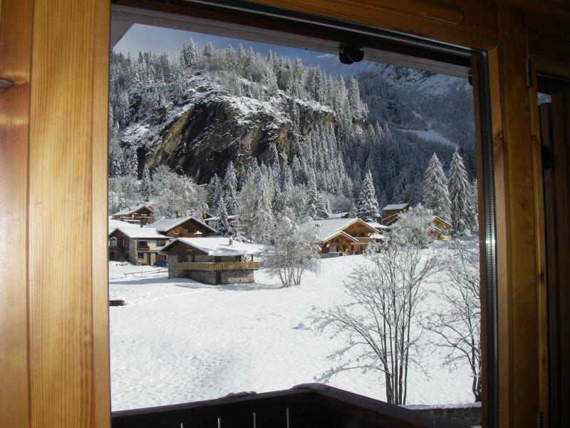 Vistas desde la terraza Alquiler Apartamento 18762 Pralognan la Vanoise