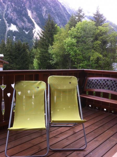 Vistas desde el balcón Alquiler Apartamento 2280 Pralognan la Vanoise