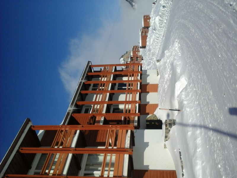 Vistas exteriores del alojamiento Alquiler Apartamento 27347 La Mongie