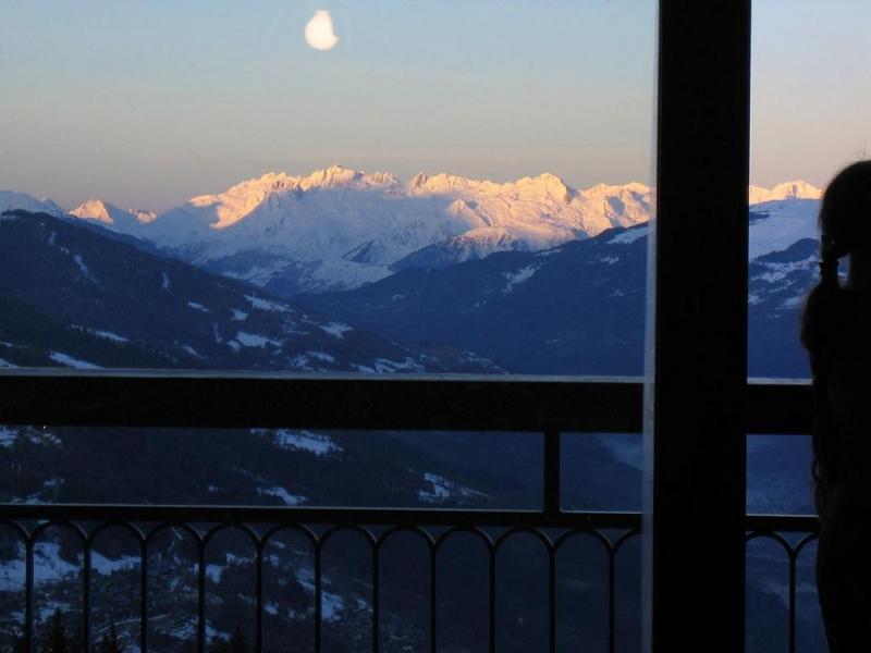 Vistas desde el balcón Alquiler Apartamento 28016 Les Arcs