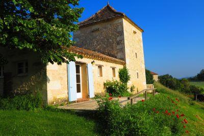 Terraza Alquiler Casa rural 28762 Monpazier