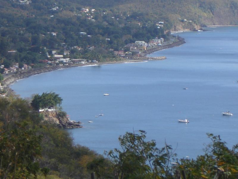Vistas desde la terraza Alquiler Casa rural 29739 Bouillante