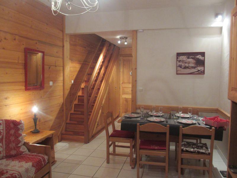 Sala de estar Alquiler Apartamento 3085 Tignes