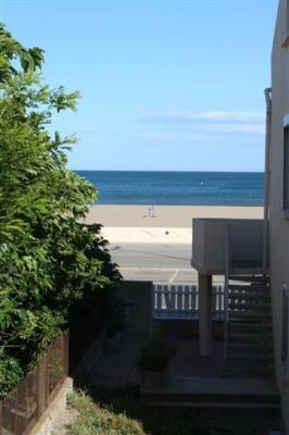 Vistas desde el balc�n Alquiler Apartamento 30901 Narbonne plage