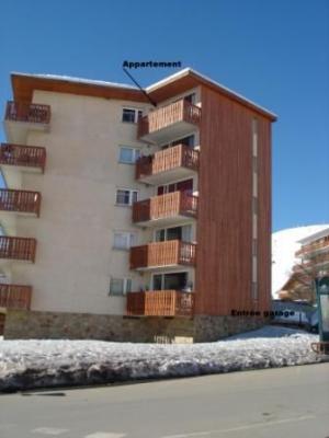 Vistas exteriores del alojamiento Alquiler Apartamento 31403 Alpe d'Huez