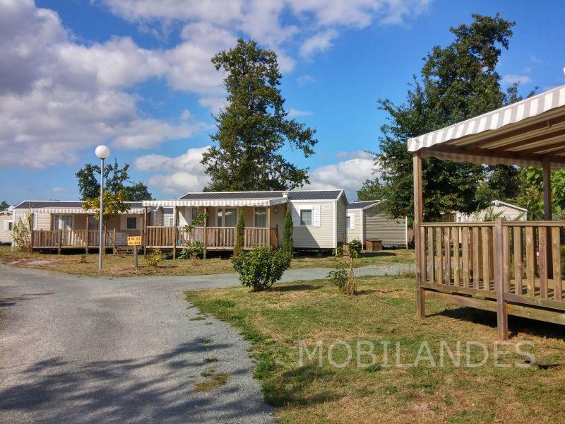 Vistas exteriores del alojamiento Alquiler Mobil home 31432 Biscarrosse