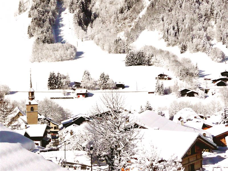 Vistas desde el alojamiento Alquiler Chalet 32551 Les Contamines Montjoie