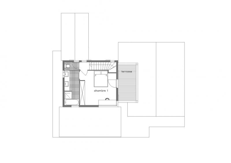 Plano del alojamiento Alquiler Chalet 32551 Les Contamines Montjoie