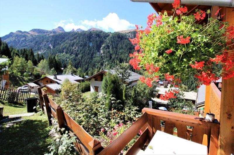 Vistas desde la terraza Alquiler Chalet 3290 Valfréjus