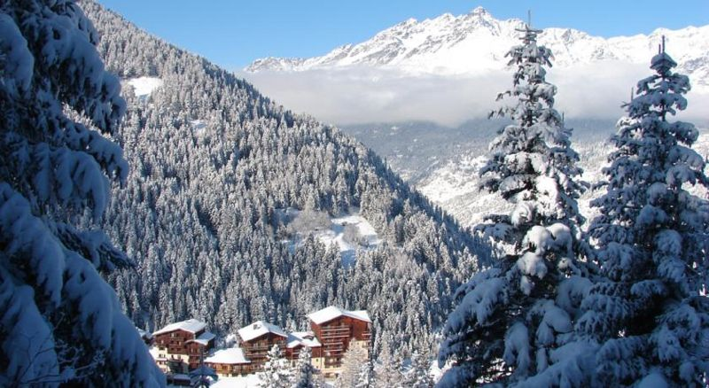 Vistas de las proximidades Alquiler Chalet 3291 Valfréjus