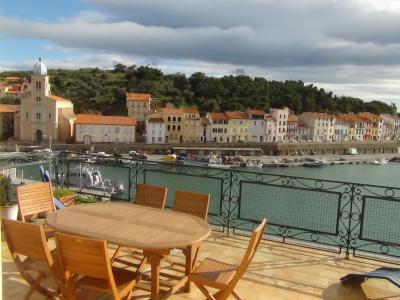 Vistas desde la terraza Alquiler Apartamento 41483 Port Vendres