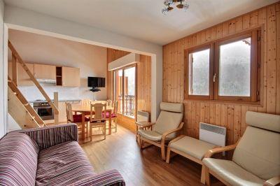 Sala de estar Alquiler Apartamento 42351 Saint Jean d'Aulps- La Grande Terche