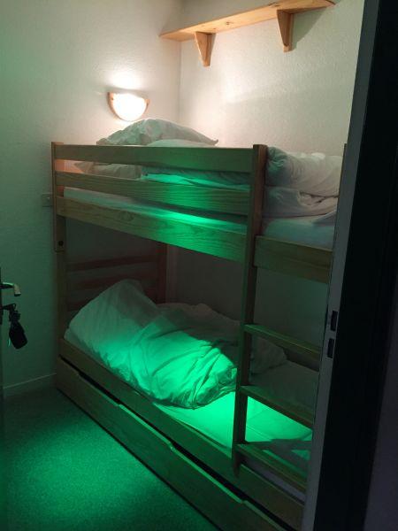 Dormitorio abierto Alquiler Estudio 4288 La Mongie