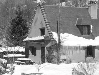 Vistas exteriores del alojamiento Alquiler Casa rural 4316 La Mongie