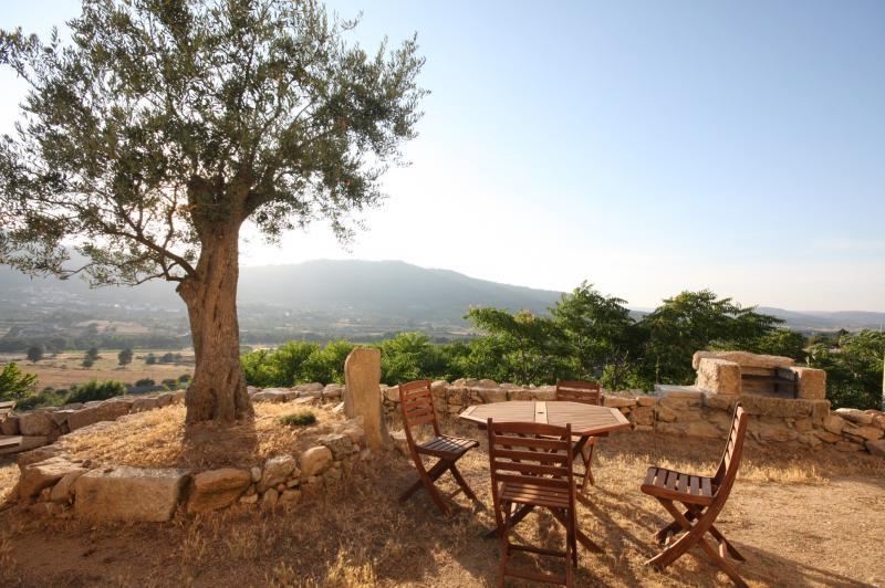 Terraza Alquiler Casa rural 43861