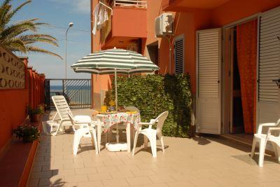Veranda (Porche) Alquiler Apartamento 46160 Balestrate
