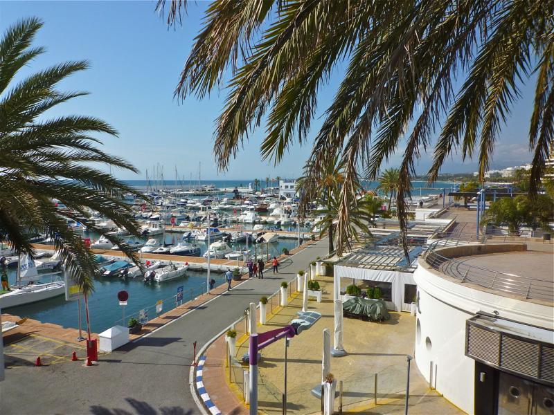 Vistas desde el balcón Alquiler Apartamento 47714 Marbella