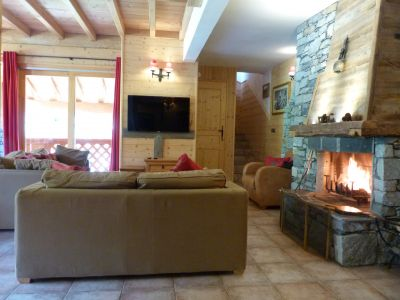 Sala de estar Alquiler Apartamento 4774 Sainte Foy Tarentaise