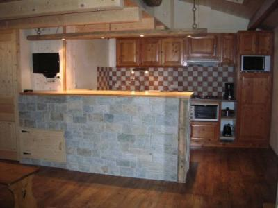 Cocina americana Alquiler Apartamento 50770 Val Cenis