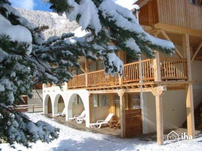 Vistas exteriores del alojamiento Alquiler Estudio 536 Arvieux en Queyras